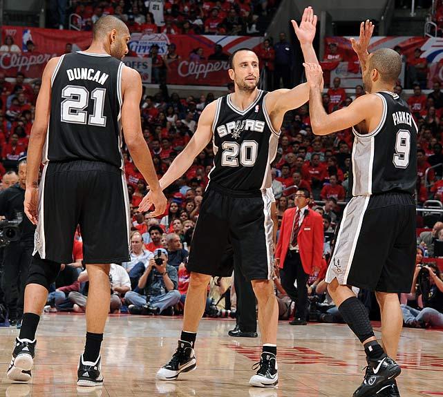 L'inesauribile trio di San Antonio