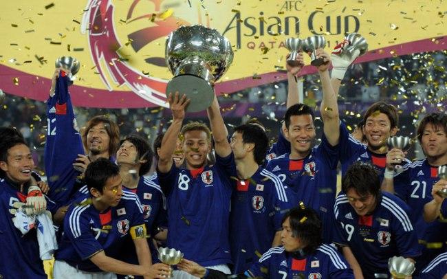 La conquista della Coppa d'Asia nel 2011 da parte dei nipponici