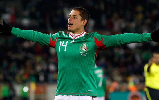 Chicharito Hernandez, capocannoniere del Tricolor con 32 gol in 47 partite