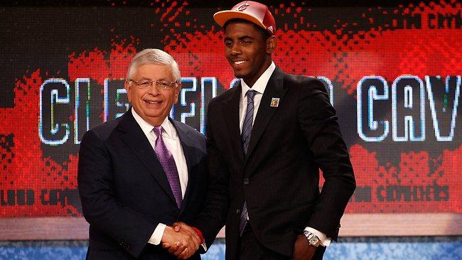 Kyrie Irving, prima scelta assoluta dei Cavs nel draft 2011. Chi sceglieranno quest'anno?