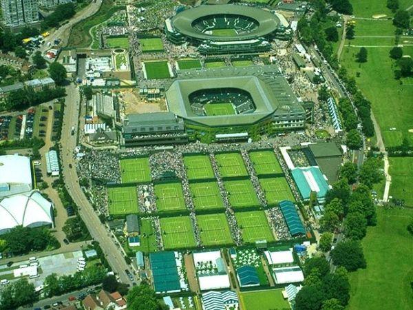 I meravigliosi campi di Wimbledon