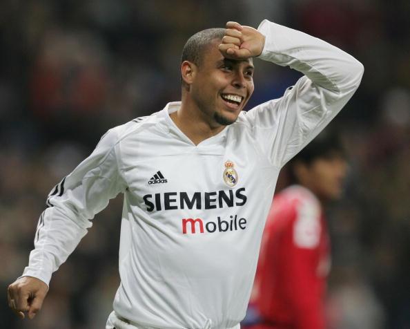 L'esultanza classica di Ronaldo al Real Madrid
