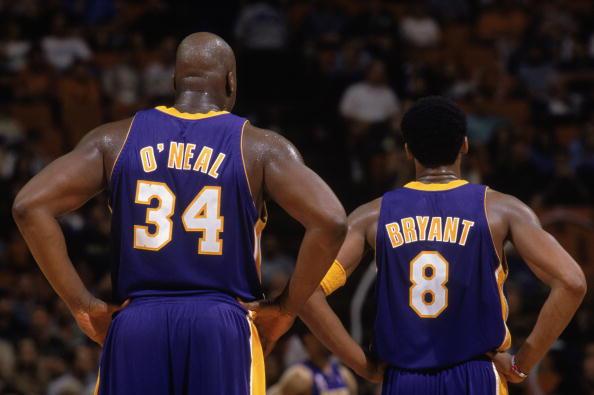 Shaquille O'Neal e Kobe Bryant