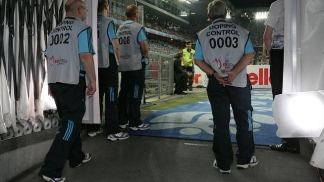 Gli addetti antidoping utilizzati dall'UEFA per gli Europei 2008 e 2012