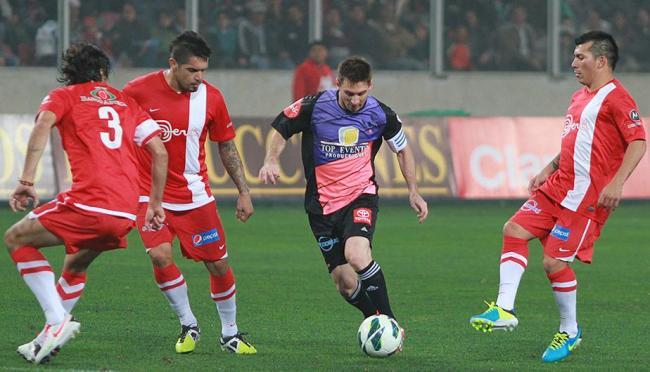 """Messi impegnato nel """"Duelo de Gigantes"""""""