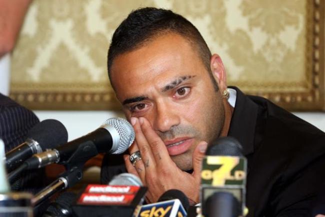 miccoli lacrime conferenza stampa