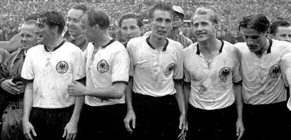 Germania Campione, 1954