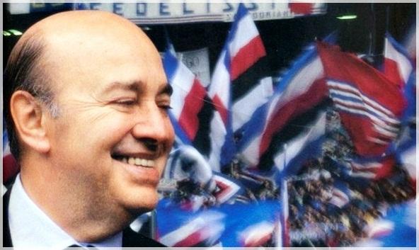 """""""L'unica cosa di cui non sono pentito, nella mia vita, è di essere diventato presidente della Sampdoria"""""""