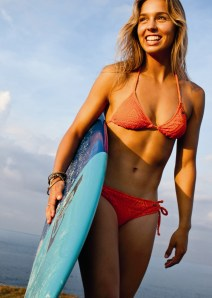 Sally Fitzgibbons, 22 Australia, surfer