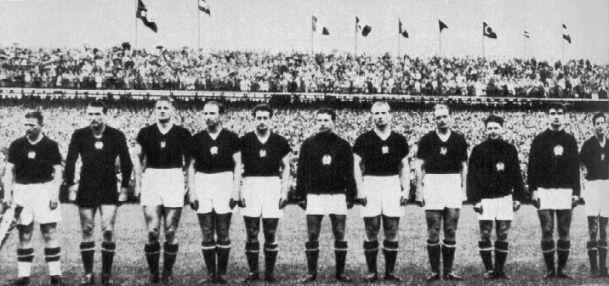 Ungheria, la squadra d'oro, 1954