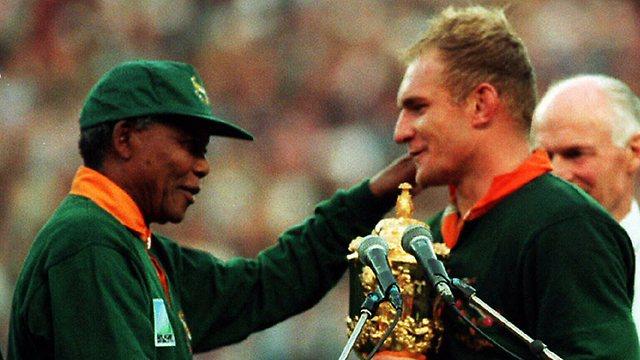Mandela premia Pienaar