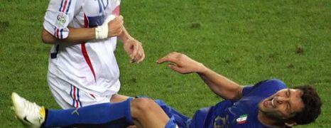 Zidane colpisce Materazzi