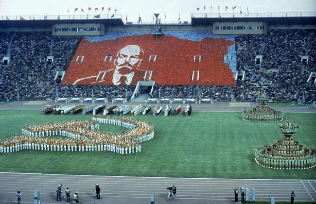 La presentazione dei giochi di Mosca 1980